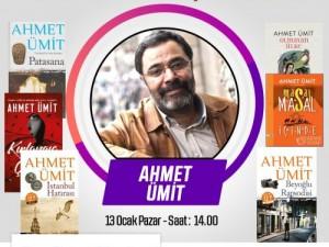 Yazar Ahmet ÜMİT ile İmza ve Söyleşi Zamanı.