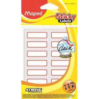 Maped Etıket Stıcky Notes 13x38 Etıket